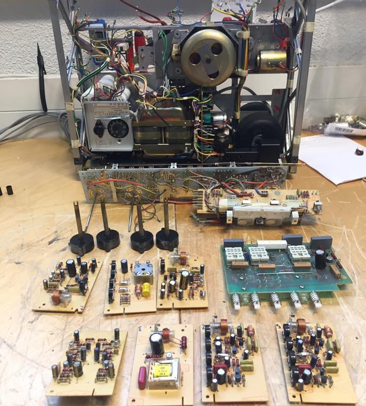ReVox A77 High Speed IEC Reparatur Revision