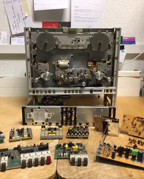 ReVox A700 Reparatur Revision