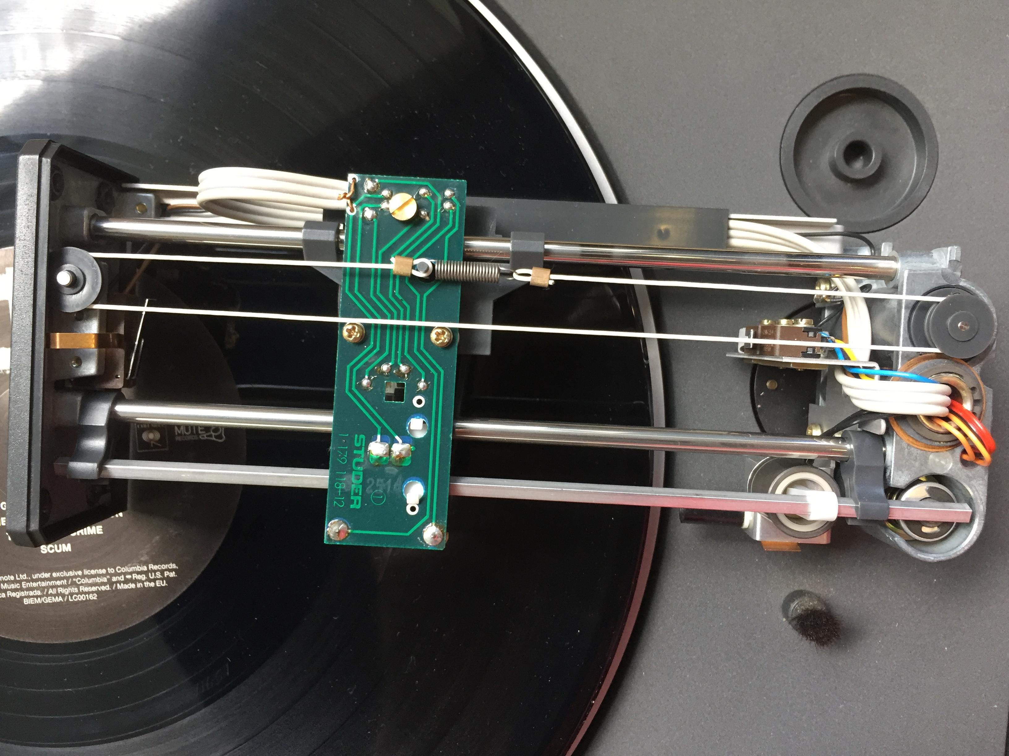 ReVox B795 B791 B790 Plattenspieler Linatrac 2
