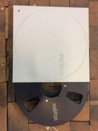 ReVox Aluminium Spule Schwarz