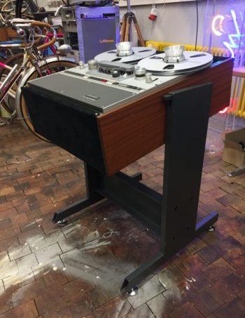 studer revox tonbandmaschine studiowagen rack