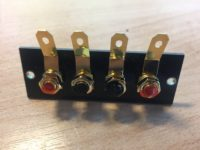 ReVox B750 Lautsprecheranschlüsse Speaker Terminals