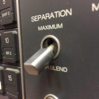 ReVox B750 Schalter aus Metall Ersatzteil