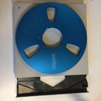 ReVox Aluminium Spule Blau NAB