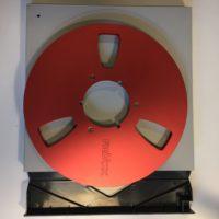 ReVox Aluminium Spule Rot NAB