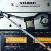 studer a807 vu bandmaschine